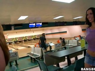 peep at how ready for use those chicks are to have banging right in the bowling