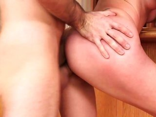 divulging naughty hoe is holding her honkers as long as is hardcore fucked