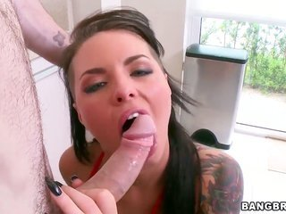 Gorgeously scrumptious dominatrix Christy Mack is solitary oral pleasure wench who gives mates thick appreciate rod a try