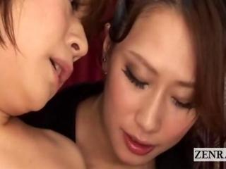 Subtitled ENF CFNF chinese vulgar lesbian massage