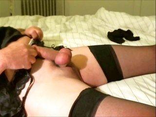 Panty enjoying