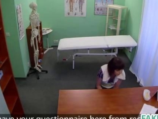 Skin assessment in the fake hospital