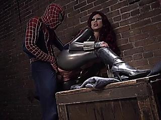 Brooklyn Lee - Spider-fellow Xxx Parody