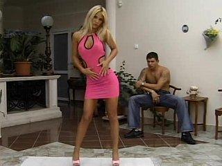 prolonged legged blondie comes into her wazoo smashed