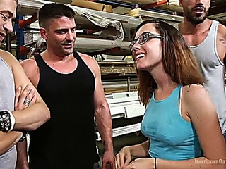 Roxanne Rae College Student receives a mouth complete of secondary brain, DP in addition to Triple Penetration
