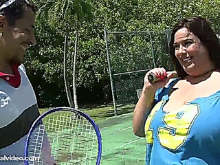 Rikki Waters - Tennis conjointly a BBW Fuck