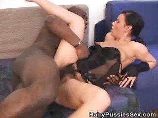 shaggy slit damsel Fucked By A Black Dude
