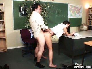 nasty schoolgirl practice hardcore next classes with her