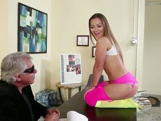 Dani Daniels is fascinated with deep fag drilling in risque hardcore move with Will Powers