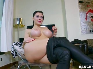Aletta Ocean too hard erect gent have a good time oral sex