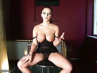 banging hungry call girl Liza Del Sierra with giant bumpers makes her sensuous reveries come amen one shot
