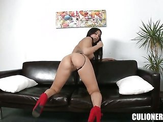 Senora Julia De Lucia is concupiscent as fuck in the end getting her hands group-fucked