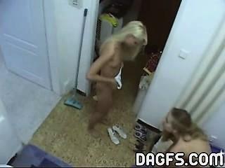 Real lez naked
