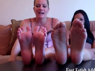 you relish to service out feet dont you