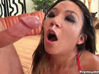 Keanni Lei has start a fire in her eyes as that babe milks cum filled up equipment of her steady