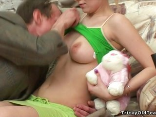 dirty old more experienced person seduces abdl blonde girl