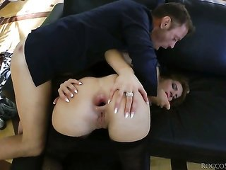 Milla Yul comes by shagged so intense by Rocco Siffredi that her gazoo hole will never be starchy over