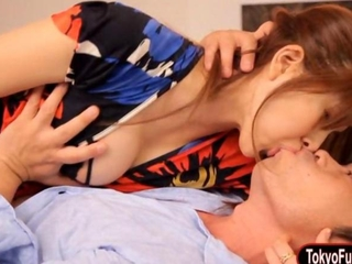 slutty korean Aoi Manami iron utterly screwed in her furry muff