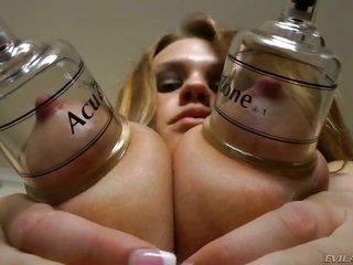 perfect too sensuous whore named Roxy Raye testifies her nice backdoor too natural boobs