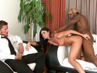 India Summer seizes a mouthful of sticky nectar after swallowing Jon Jons dick