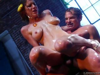 Evan Stone is lubricious too can't expecting on the cards soever abundant to explain amazingly sexy Kayla Paiges mouth