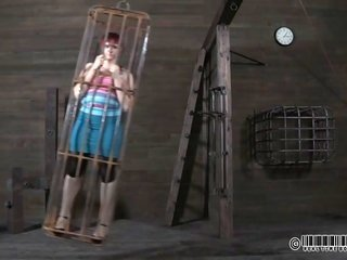 Redhead the help in cage