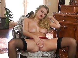 Natalia Starr has some time to make merry with her paint the town red box