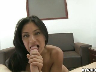 Chachita Allyson jerks mister off like a ruler