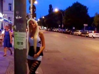 Strasse Berlin angels Street streetwalker & group meeting neighborhood