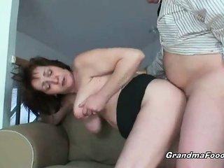 curvy grandma enjoys hardcore sexual intercourse