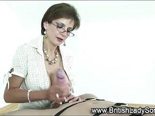 ripened dominatrix gets cumshot