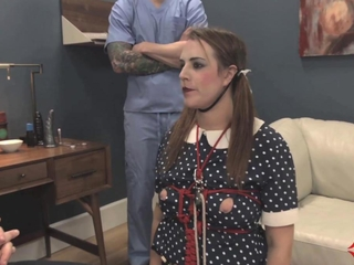 eager Dollie Alisha Adams acquires face drilled, chic drilled, and eats chic and cum