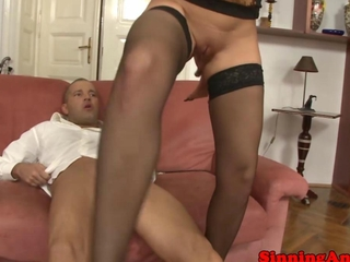 nylons clothed exquisite getting ass fucked