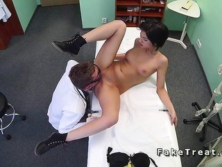 Patient catches caning treatment from doctor