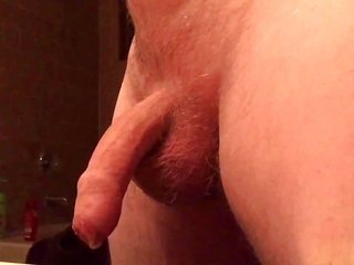 idle-motion jacking off together with cumshot.