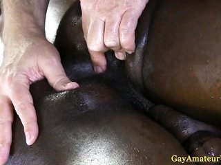 Interracial anal hole fingering at a manal holeage