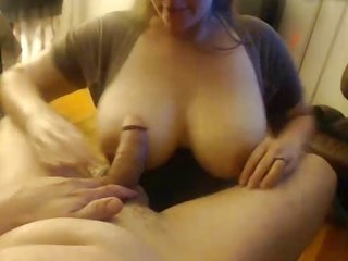 loaded breast wifey sucks off her human, takes facial