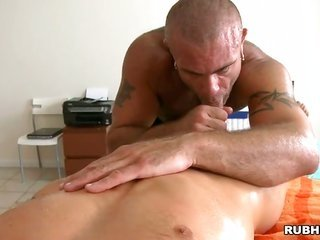 enjoyable chic is delighting guy with unexplainable massage